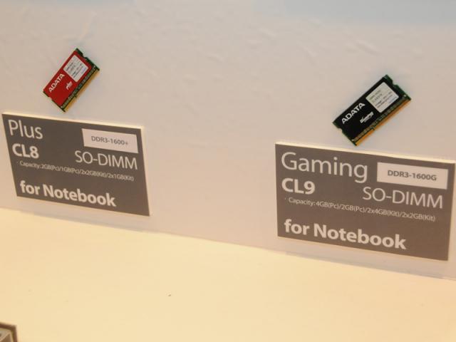A-Data - Gaming Notebook Memory