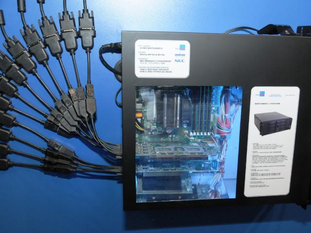 Matrox Display Cabling