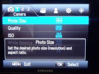 Camera Settings - 1