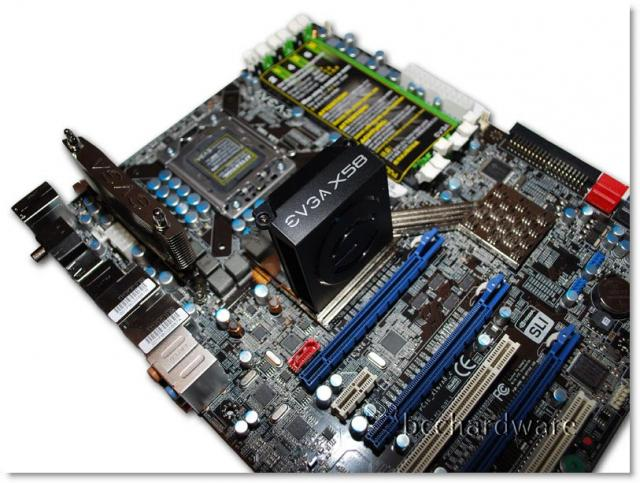 EVGA X58 3X SLI Motherboard - Close Look at the EVGA X58