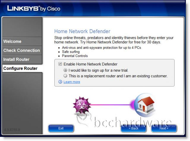 Enable Home Network Defender