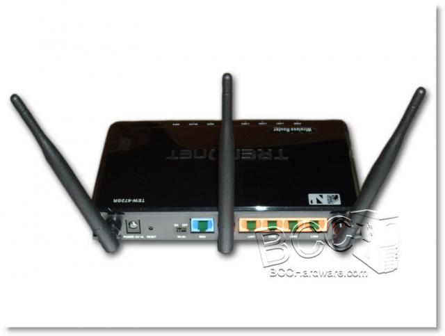 Rear Of Router