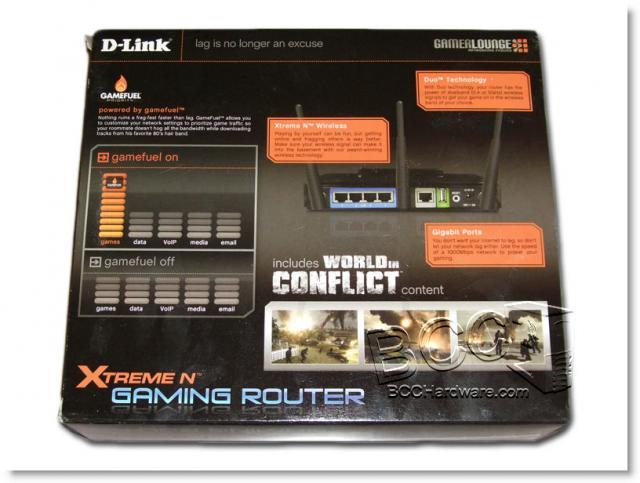 DGL-4500 Box Back