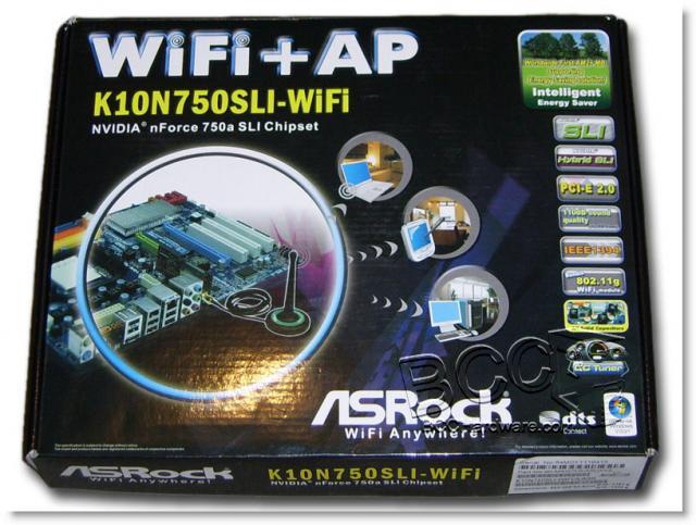 K10N750SLI-WiFi Box