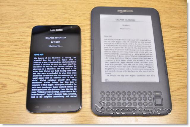 Note vs Kindle