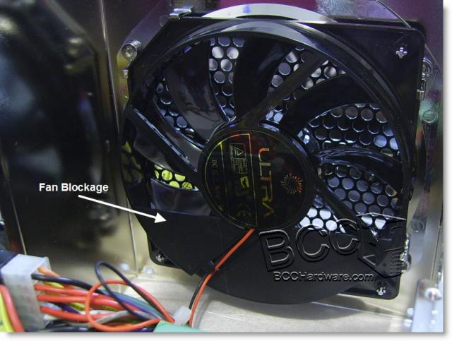 Fan Blockage