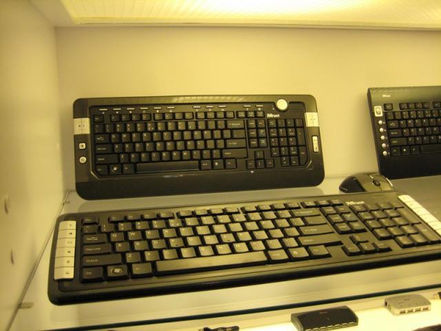 More Keyboards