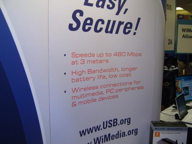 Wireless USB Features