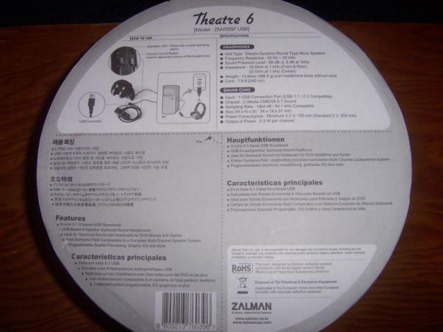 Headphone Package - Bottom