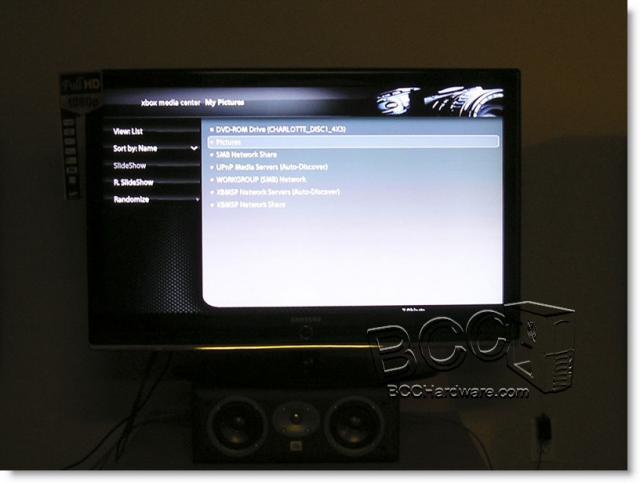 TV Displaying XBMC