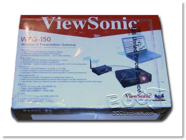 Viewsonic wpg-100 wireless g presentation gateway wpg-150 b&h.