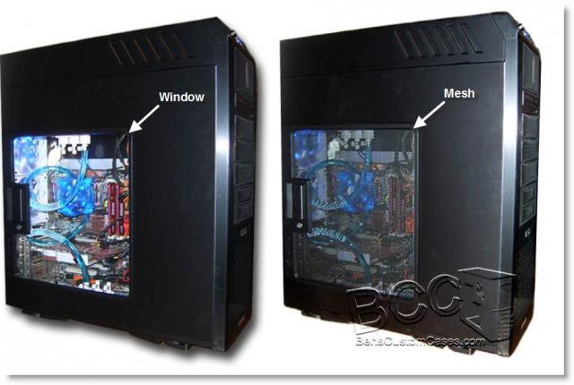 Window vs Mesh