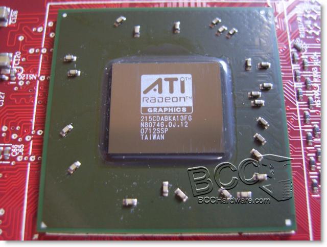 RV630XT - Core