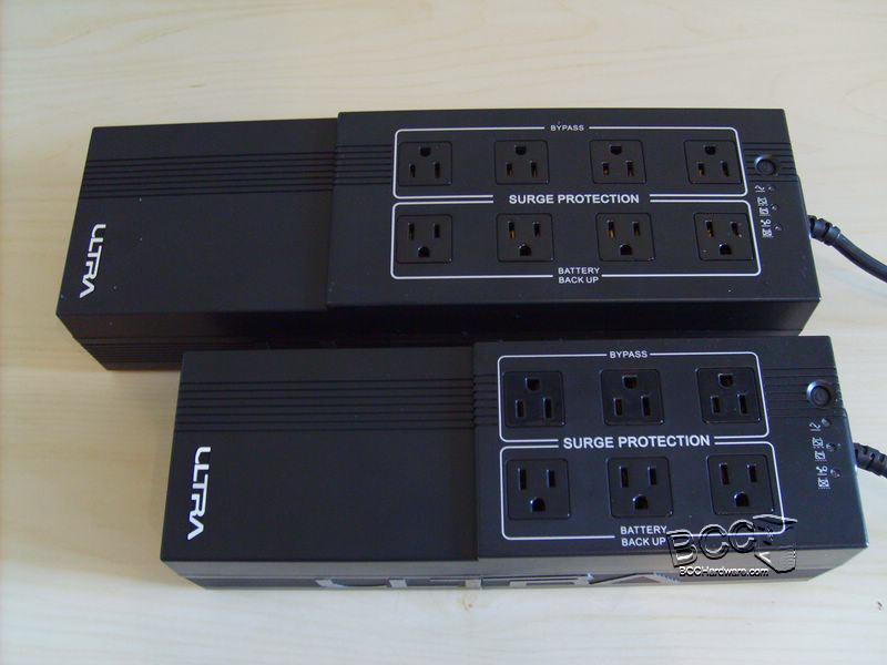 Ultra 850VA - 700VA Comparison