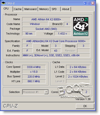 Athlon 64 6000 X2 Dual Core At 3ghz Athlon 6000 Processors Specs And Overclocking