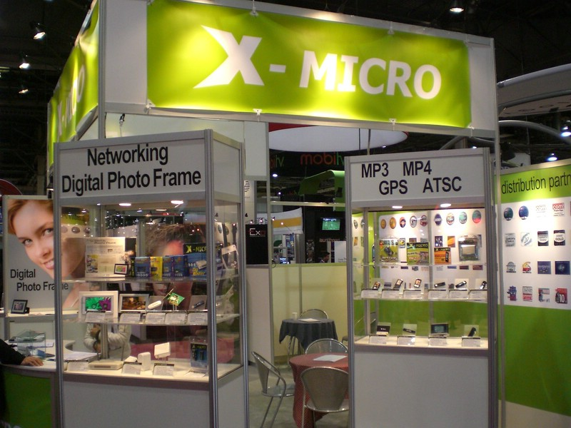 X-Micro Display Booth