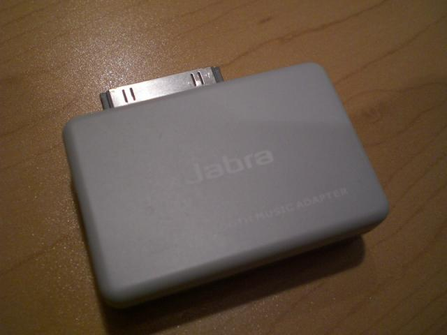 Jabra Bluetooth stereo iPod transmitter