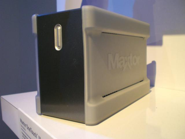 Maxtor OneTouch Turbo Edition - Front