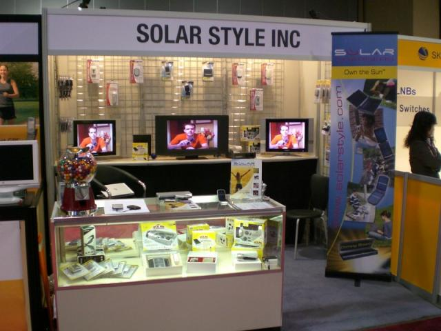 Solar Style Booth