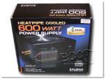 Zalman 600W Heat-Pipe Cooled PSU