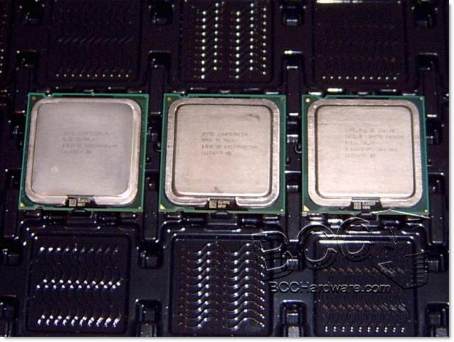 Processor Lineup - Top