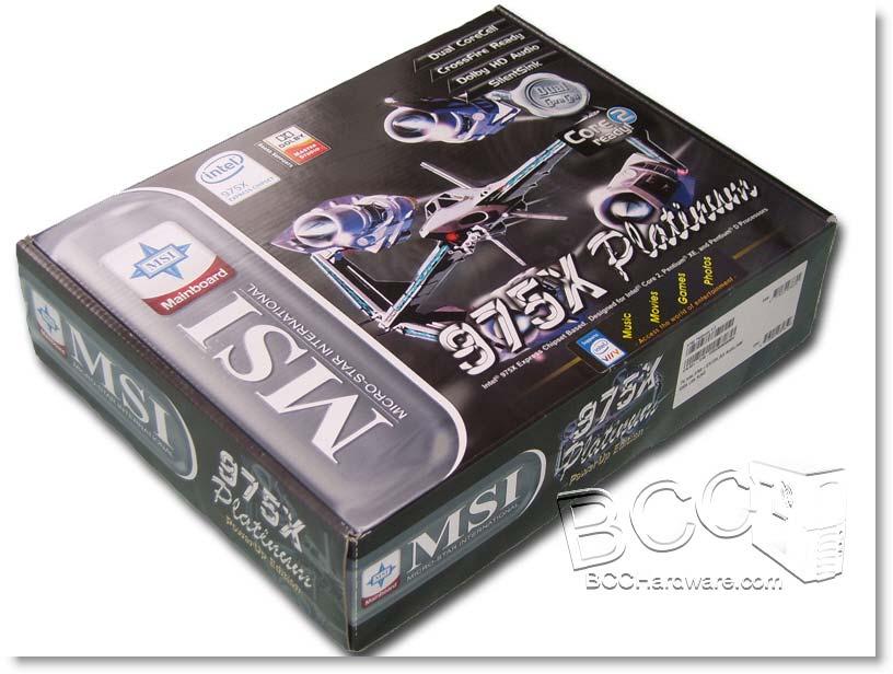 MSI 975X Platinum - Box