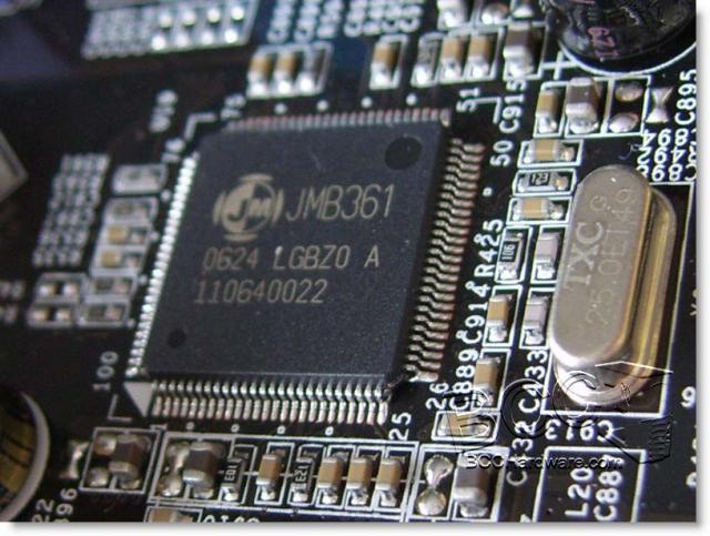 JMicron SATA & IDE Controller