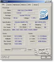 CPU-Z Overclocked - Main