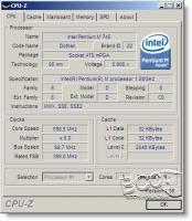 CPU-Z Main