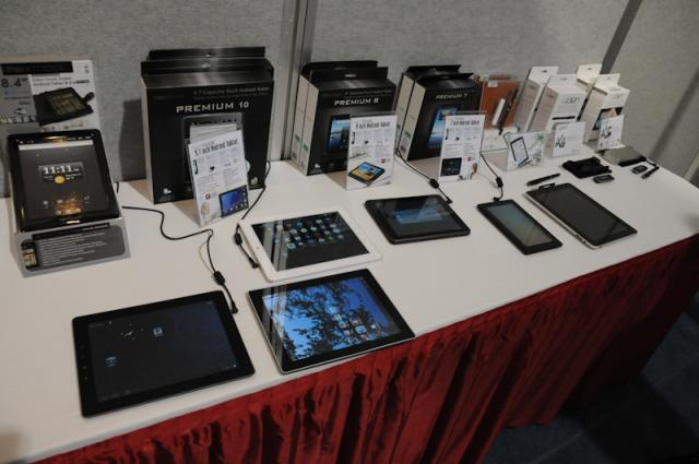 E-FUN Tablet Lineup