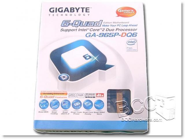 Gigabyte 965P-DQ6 - Box