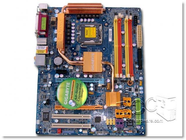 Gigabyte 965P-DQ6 - Board