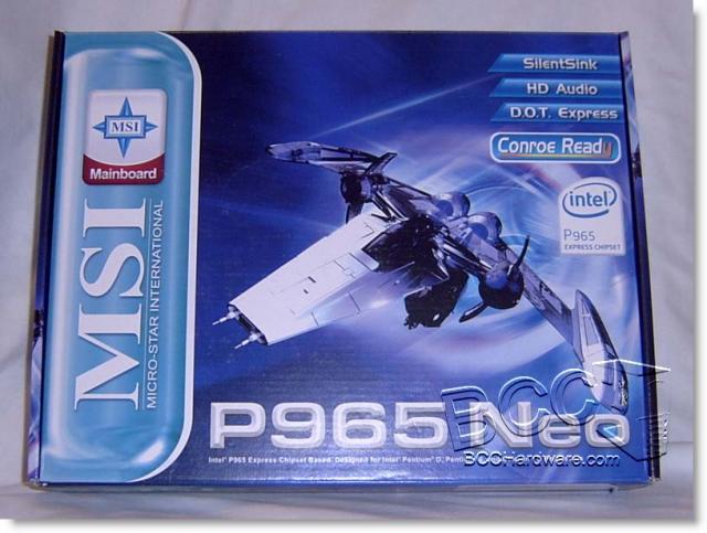 Msi p965 neo ms-7235
