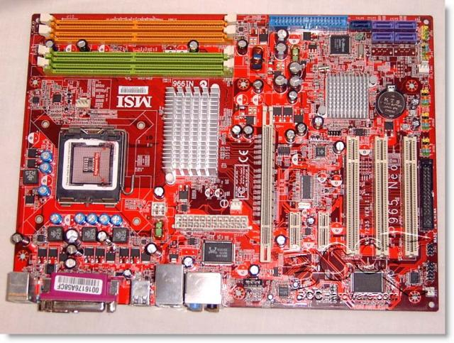 Motherboard View