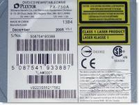 PX-750A - Label