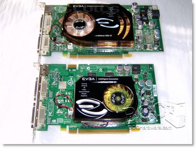 7900GT vs 7600GT Size