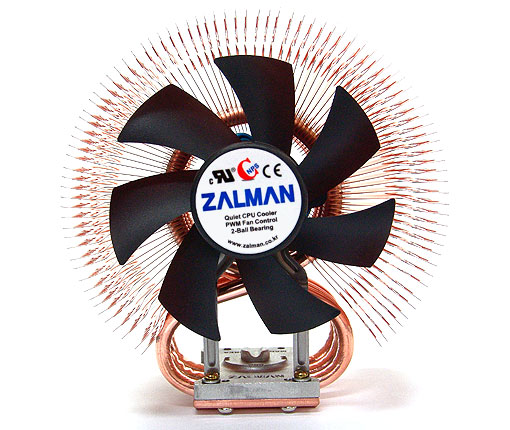 Zalman 9500AT - Front View