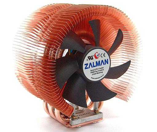 Zalman 9500AT - Front/Side View
