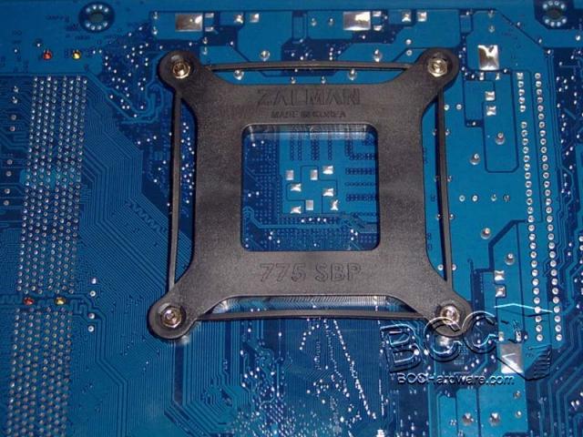 Zalman 9500AT - Back Plate