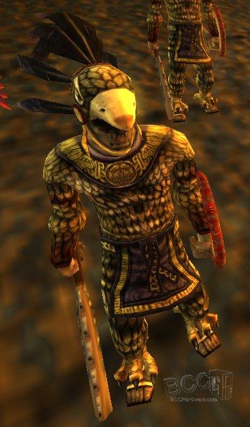 Evil Aztec Warrior