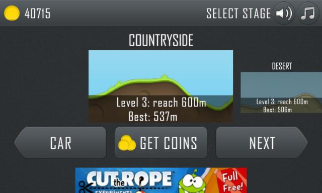 Hill Climb Racing - Levels