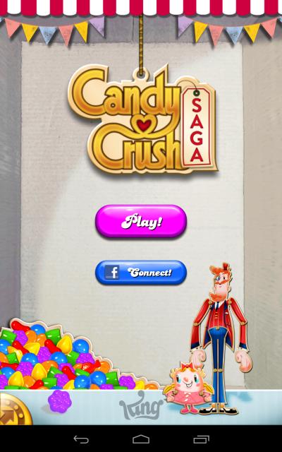 Candy Crush Saga - Main