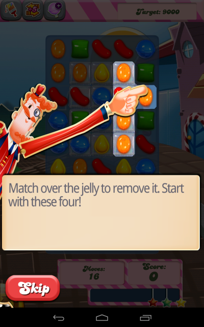 Candy Crush Instructions