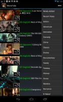Movie Tube List