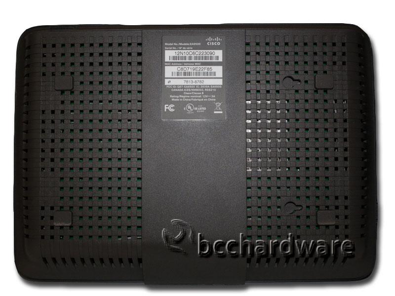 EA6500 - Bottom