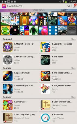 Samsung AppStore