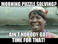 Sweet Brown puzzles