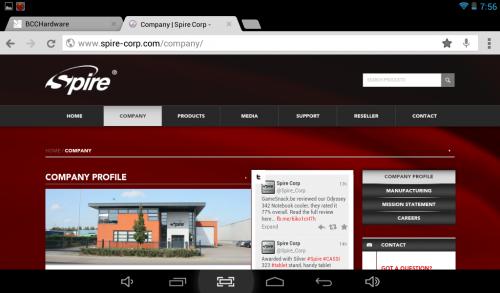 Spire Website