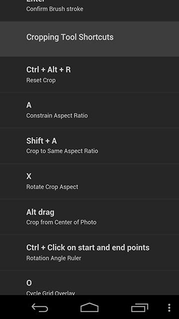 Shortcuts+ Crop