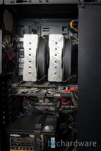 Thermaltake Frio Extreme Installed